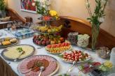 Rich buffet breakfast in Hotel Fonte Gyor - accommodation and hotels in Gyor