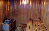Sauna of Hotel Klastrom in Gyor
